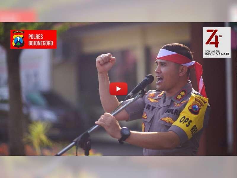 Video: Semarak Gapura Kemerdekaan Polres Bojonegoro