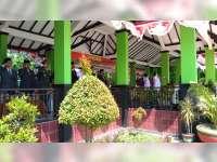 Bupati Pimpin Upacara Peringatan Detik-Detik Proklamasi di Alun-Alun Bojonegoro