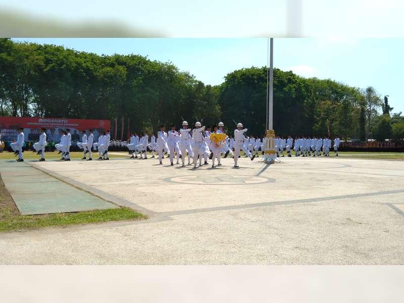 Inilah Pengibar Bendera Dalam Upacara Peringatan Detik-Detik Proklamasi di Bojonegoro