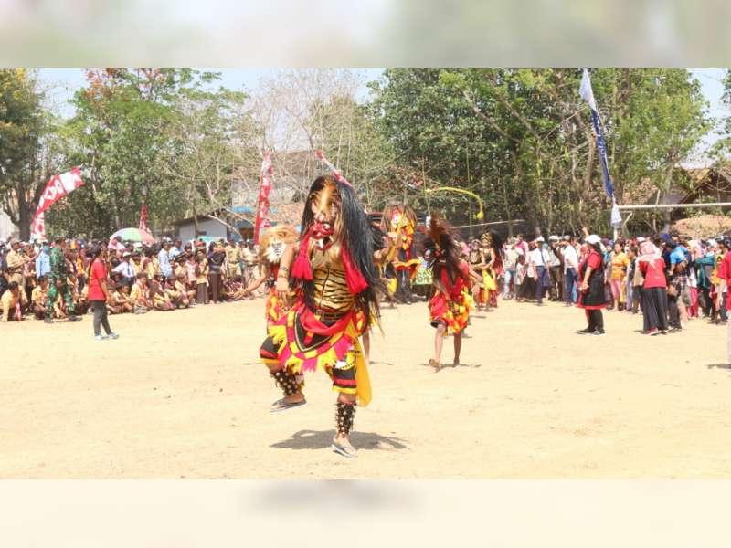 Upacara Peringatan HUT RI dan Kunduran Pitulasan Karnaval 2019 di Blora Berjalan Meriah