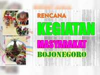 Rencana Kegiatan Masyarakat Bojonegoro 19 Agustus 2019