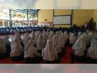 Sat Binmas Polres Bojonegoro Gelar Pembinaan dan Penyuluhan Melalui Police Goes to School