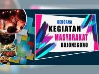 Rencana Kegiatan Masyarakat Bojonegoro 20 Agustus 2019