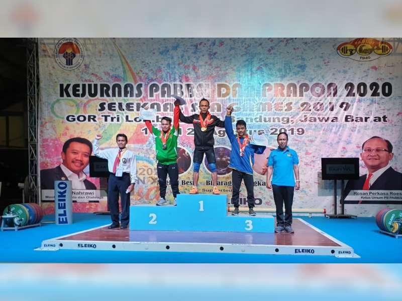 Lifter Bojonegoro M Fauzan, Raih Medali Perak pada Kejurnas dan Pra-PON di Bandung