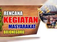 Rencana Kegiatan Masyarakat Bojonegoro 22 Agustus 2019