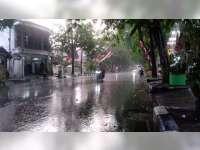 Sejumlah Wilayah di Kabupaten Bojonegoro Mulai Diguyur Hujan Pertama