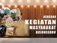 Rencana Kegiatan Masyarakat Bojonegoro 25 Agustus 2019