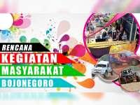 Rencana Kegiatan Masyarakat Bojonegoro 26 Agustus 2019