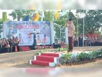 Gubernur Jateng, Buka Jambore Daerah XV, di Bumi Perkemahan Mustika Blora