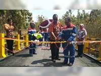 Pertamina EP Asset 4 Field Cepu, Resmikan Jembatan Semanggi di Jepon Blora