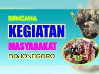 Rencana Kegiatan Masyarakat Bojonegoro 2 September 2019