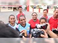 Pesan Damai Mariela, Pelajar Papua di Blora