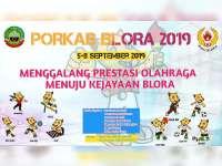 38 Nomor Pertandingan dari 10 Cabang Olahraga, Dipertandingkan dalam Porkab Blora