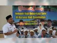 Jamaah Haji Kabupaten Blora Kloter 55, Tiba di Asrama Haji Donohudan