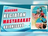 Rencana Kegiatan Masyarakat Bojonegoro 5 September 2019