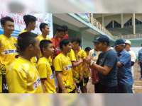 Kecamatan Blora Raih Emas Pertama Porkab Dari Cabang Olahraga Futsal