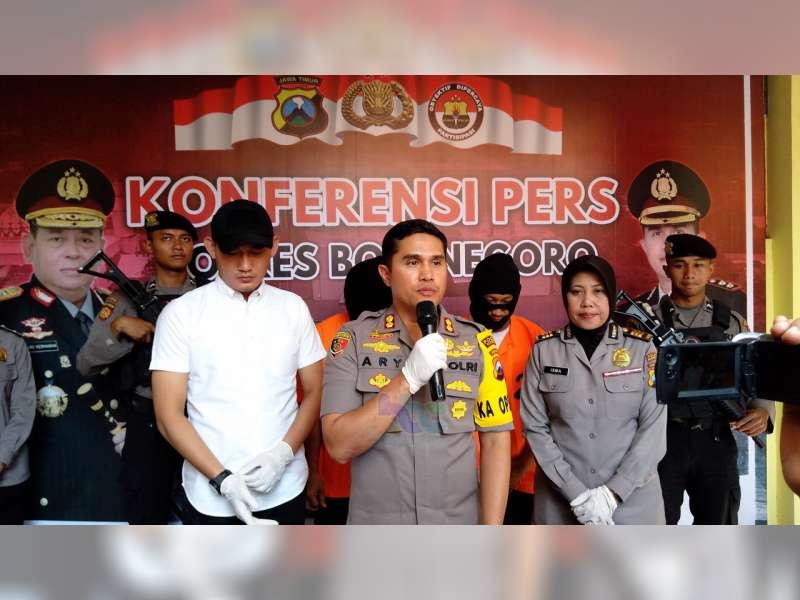 Polres Bojonegoro Tangkap 2 Orang Pelaku Pencurian, Spesialis Nasabah Bank