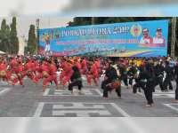 Pembukaan Pekan Olahraga Kabupaten Blora Berlangsung Meriah