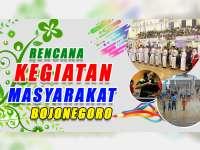Rencana Kegiatan Masyarakat Bojonegoro 6 September 2019