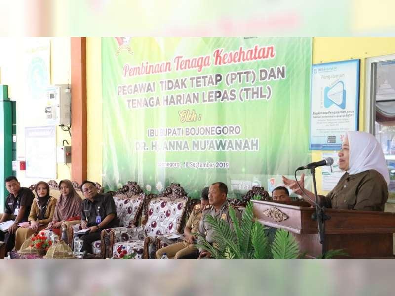 Bupati Bojonegoro Instruksikan Petugas Kesehatan Tingkatkan Mutu Pelayanan Kesehatan
