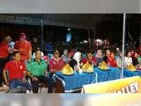 Bupati Bojonegoro Hadiri Pembukaan Turnamen Bola Voli Semi Open Jatigede Cup 2019