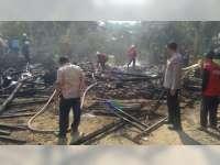 Ditinggal Kerja, Rumah Milik Warga Trucuk Bojonegoro Terbakar, Keruugian Capai Rp 60 Juta