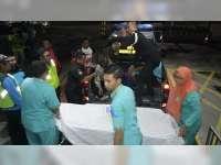 Tabrakan Motor di Margomulyo Bojonegoro, 2 Orang Luka Berat, Seorang Lainnya Luka Ringan