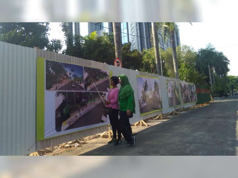 Warga Sambut Baik Rehab Pagar Pendapa Pemkab Bojonegoro