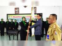 Ketua Umum KONI Bojonegoro Lantik Pengurus Perwosi