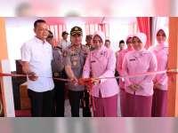 Ketua Bhayangkari Cabang Bojonegoro Resmikan TK Kemala Bhayangkari di Sugihwaras
