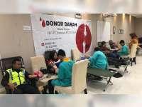 Sambut HUT PEPC ke-14, Pekerja PEPC Laksanakan Donor Darah
