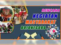 Rencana Kegiatan Masyarakat Bojonegoro 22 September 2019