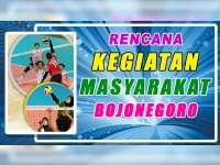 Rencana Kegiatan Masyarakat Bojonegoro 26 September 2019