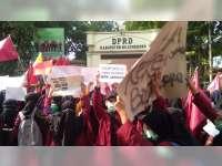 Mahasiswa di Bojonegoro Desak Pemerintah Terbitkan Perppu KPK dan Tolak RUU KUHP