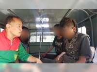 Polisi Bersama Satpol PP di Sumberrejo Bojonegoro, Razia Anak Punk, Tiga Anak Diamankan