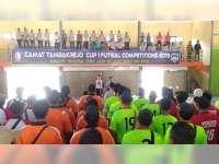 Camat Tambakrejo Cup - Futsal Competition 2019, Digelar di GOR Dologgede Tambakrejo Bojonegoro