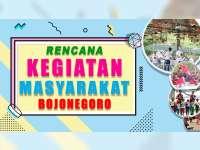 Rencana Kegiatan Masyarakat Bojonegoro 29 September 2019