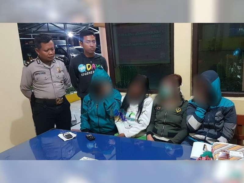 Tawarkan Jasa pada Petugas, 4 Pekerja Seks di Bojonegoro Diamankan Polisi