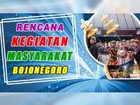 Rencana Kegiatan Masyarakat Bojonegoro 03 Oktober 2019