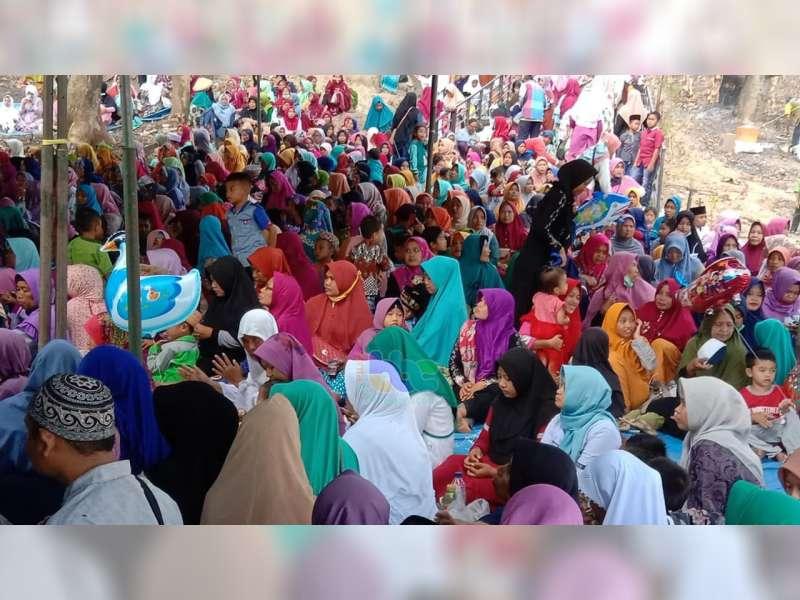 Ratusan Jemaah Hadiri Haul Wali Kidangan di Desa Sukorejo Malo Bojonegoro