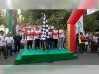 Belasan Ribu Peserta Hadiri Puncak Acara Peringatan HUT TNI di Alun-Alun Bojonegoro