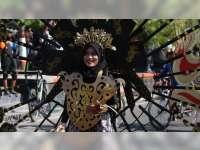 Festival Bambu di Blora, Puluhan Busana Hasil Kreasi yang Menonjolkan Ornamen Bambu