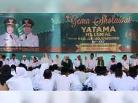 Sambut Hari Jadi Bojonegoro, Pemkab Gelar Gema Salawat dan Yatama Millenial