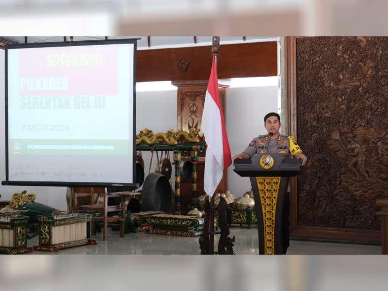 Pengamanan Pilkades, Polres Bojonegoro Terjunkan 2.324 Personel dan Tim Penjinak Bom