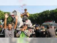 Ulang Tahun, Kapolres Bojonegoro Dapat Kejutan dari Dandim Bojonegoro