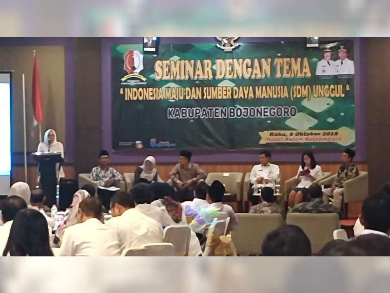 Pemkab Bojonegoro Gelar Seminar dengan Tema 'Indonesia Maju dan SDM Unggul'