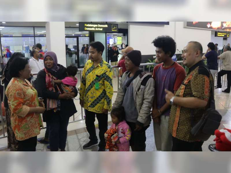 Lima Warga Blora di Wamena Dipulangkan dan Dijemput Pemkab Blora