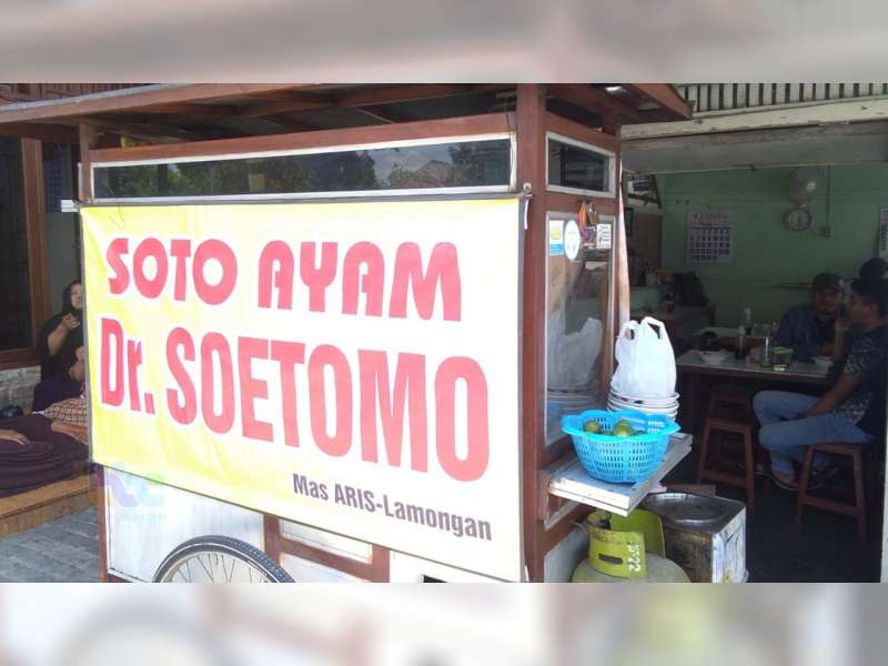 Soto Ayam Dr Soetomo Bojonegoro, Kelezatannya Karena Pertahankan Resep Keluarga