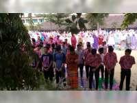 Hujan Tak Kunjung Turun, Pelajar SMA Negeri 2 Blora Gelar Salat Minta Hujan