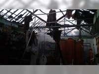 Akibat Kompor Meledak, Dapur Warga Sugihwaras Bojonegoro Terbakar, Kerugian Rp 80 Juta